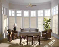 """Levolor 2"""" Premium Wood Blinds From Blinds.com traditional-living-room"""