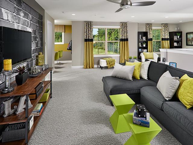 Lexington Plan at Baileys Creek | Raleigh, NC contemporary-living-room