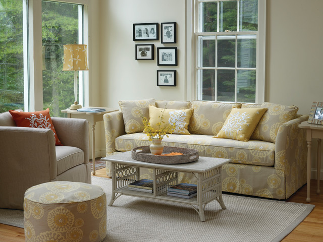 Libby Sofa Traditional Living Room Other Metro By
