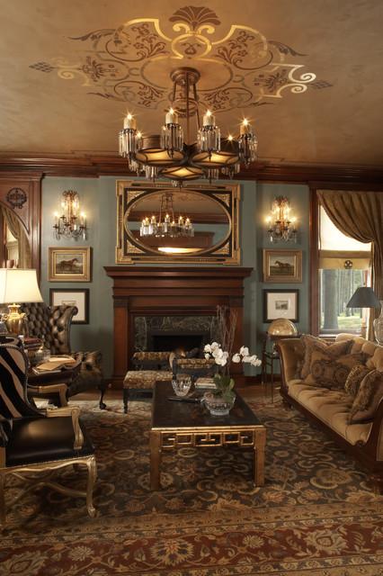 Living Room Like A Library: Minneapolis