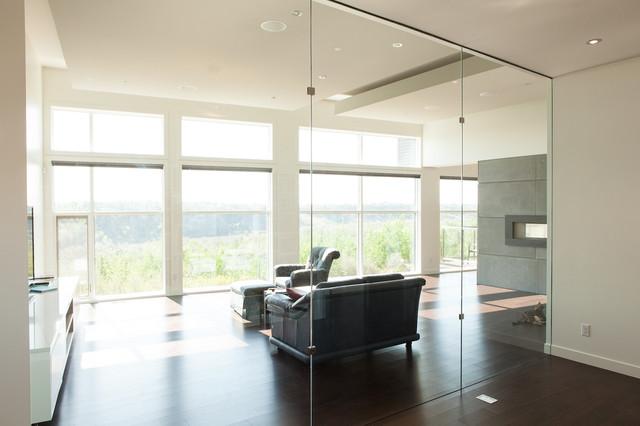Library modern-living-room