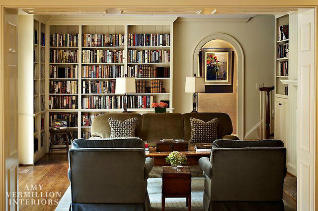 Charmant Inspiration For A Timeless Living Room Remodel In Charlotte