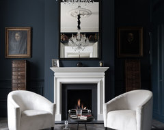 Some of my photographs of client projects transitional-living-room