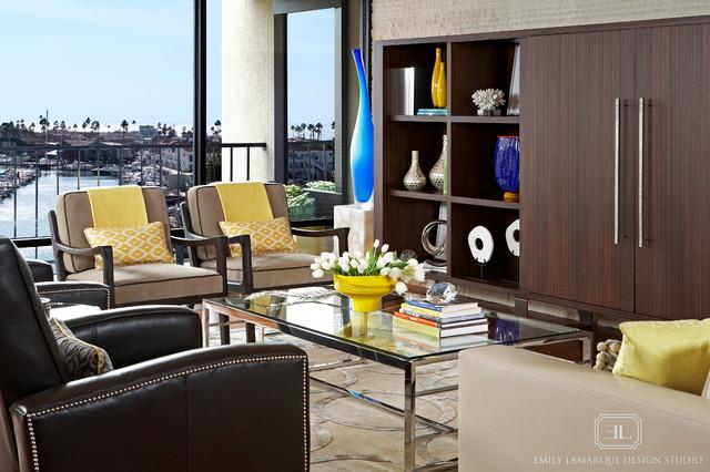 Lido Island contemporary-living-room
