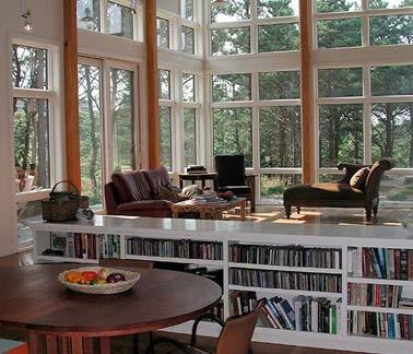 Lieutentant Island Residence Wellfleet Modern Living Room