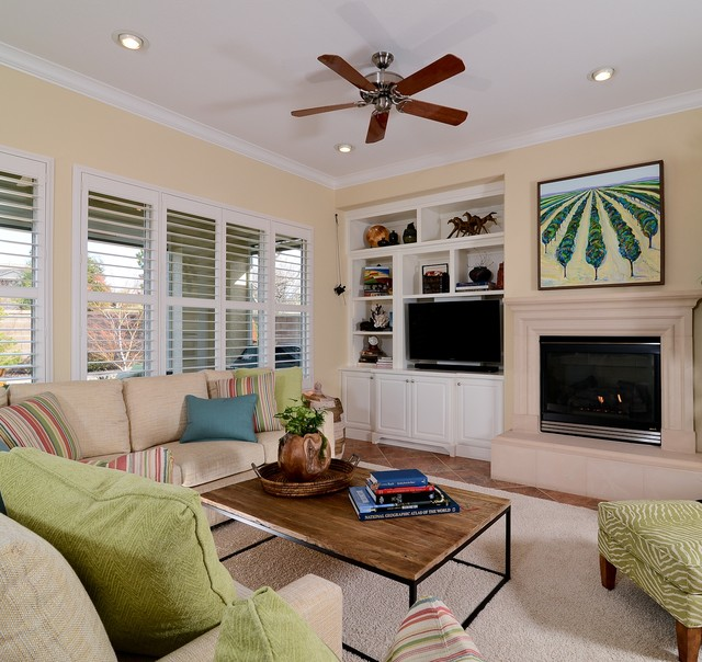 Light And Bright Retreat Traditional Living Room Sacramento By Kerrie L Kelly