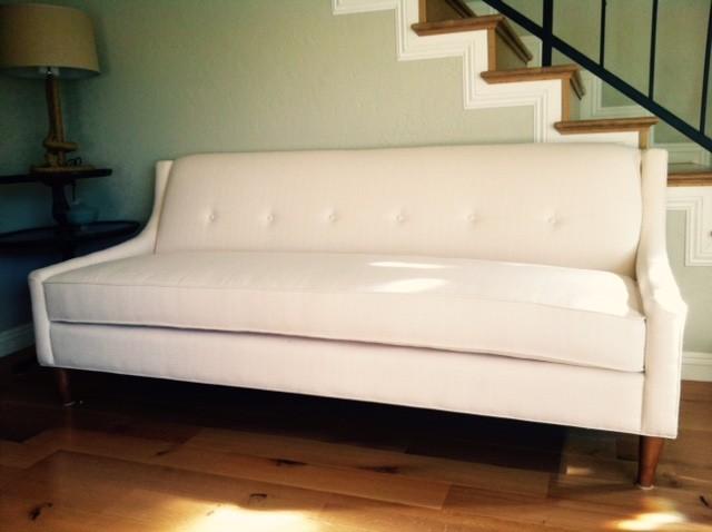 Light Brown High Back Modern Sofa | The Sofa Company ...