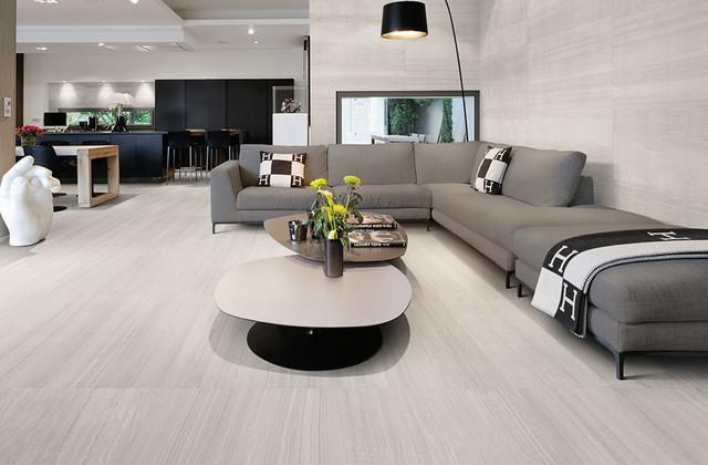 Light Grey Ret Modern Living Room Singapore By Hafary