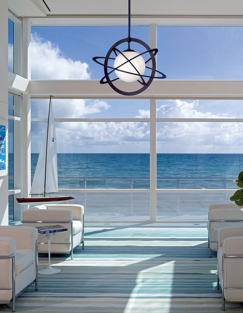 Modern Beach House Ocean Views