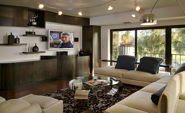 Lighting Options for Your Family Room - Contemporary - Living Room ...