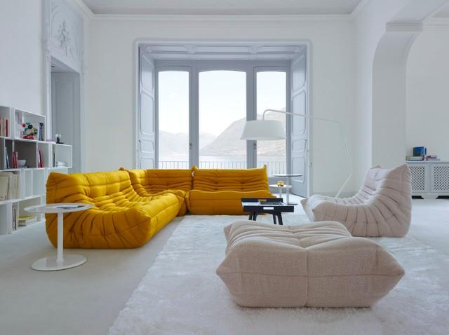 ligne roset living spaces contemporain salon new. Black Bedroom Furniture Sets. Home Design Ideas