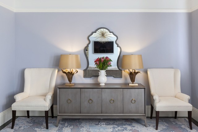 Lilac textural glamour transitional living room san Lilac living room ideas
