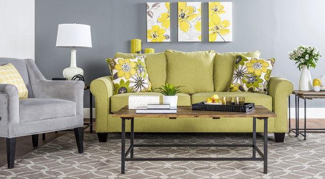 Lime green accessories for living room the top 5 best for Lime green living room furniture