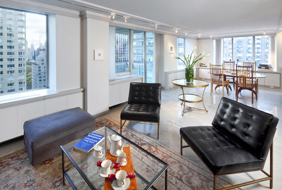 Lincoln Center Residence contemporary-living-room
