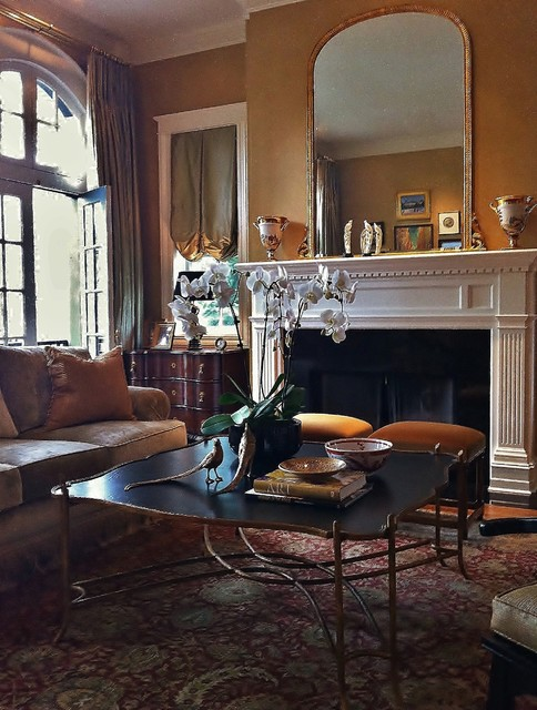 Lincoln park asian eclectic for Traditional eclectic living rooms