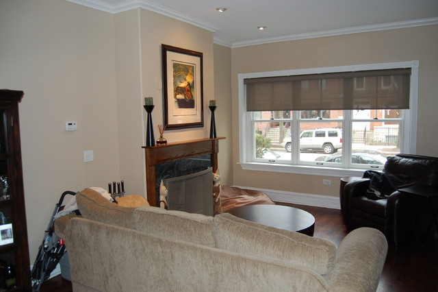 lincoln park traditional-living-room