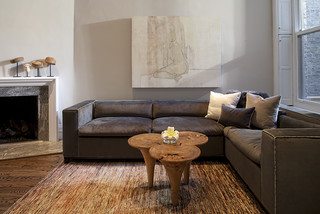 Lincoln Park Residence contemporary-living-room