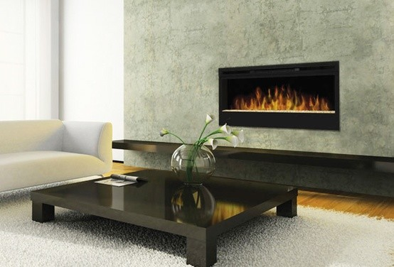 Linear Fireplace - Modern - Indoor Fireplaces - by KJB FIREPLACES