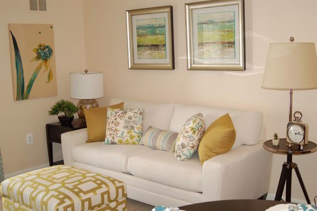 Lions gate model home for Living room 75020
