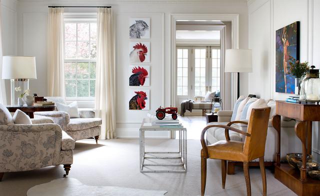 Lisa Stevens and Co. transitional-living-room