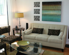 Lissee Interiors contemporary-living-room