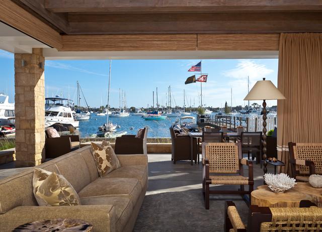 Little Balboa Island beach-style-patio