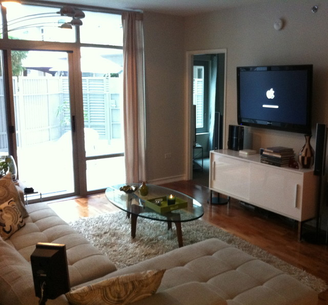Little Italy Condo Redo Traditional Living Room San Diego By Will Pai