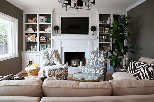 Livable Luxury transitional-living-room