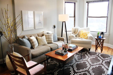 Live Creating Yourself eclectic living room