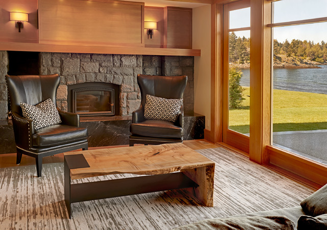 LIVE EDGE Modern Country Home Tour Contemporary Living Room Part 78