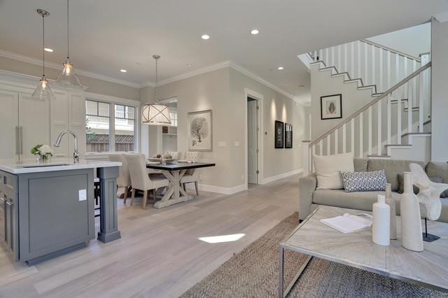 Live Oak Transitional Living Room