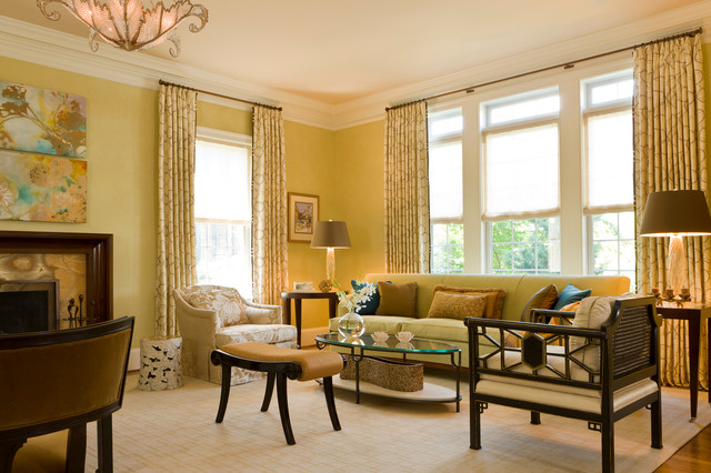 Living And Family Rooms Traditional Living Room Dc