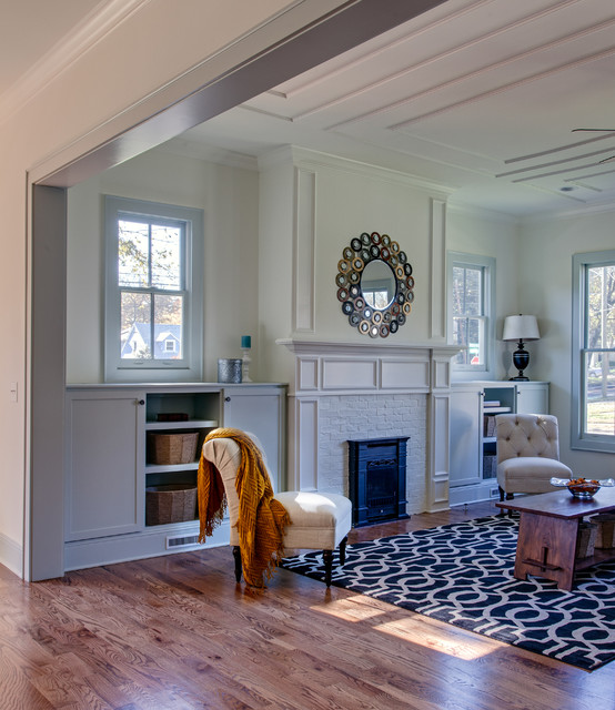 Living Area New Orleans Style Woodwork Rustic Living