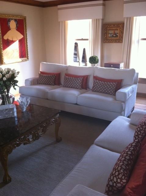 Living Area Renovation traditional-living-room