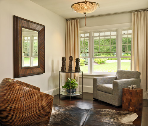 Wood Framed Mirrors For Modern Homes