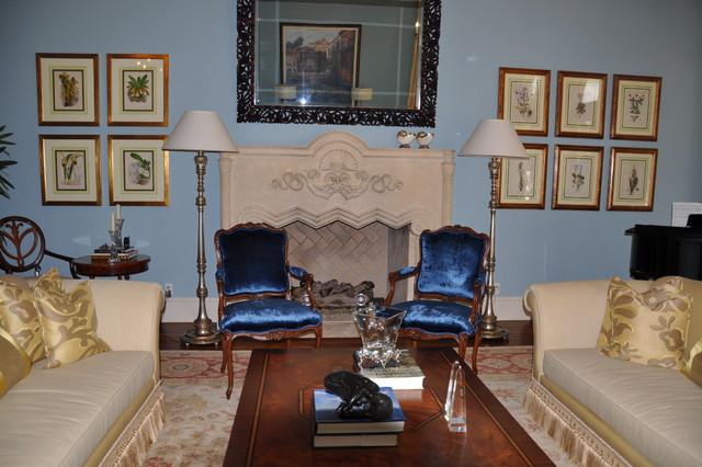 Living Boca traditional-living-room