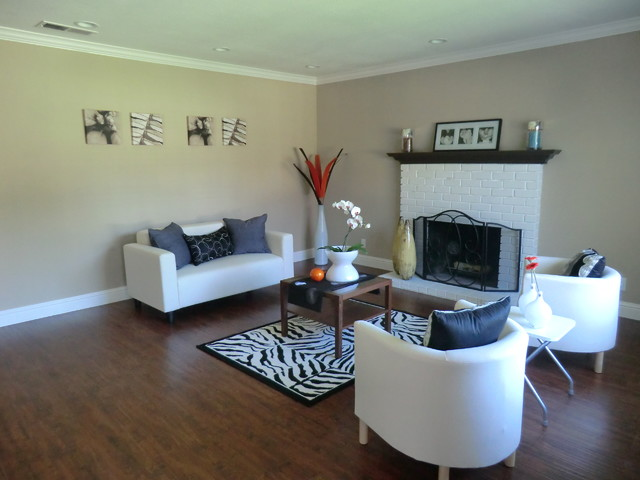 Living Classy Staging & Redesign contemporary-living-room