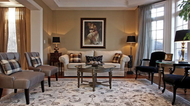 traditional living room by Somers & Company Interiors,  Gillian Somers
