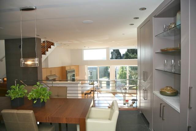 Living, Kitchen, Dining modern-living-room
