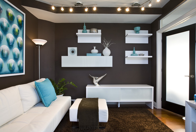 Living Room Decorating Ideas Teal And Brown brown and teal | houzz