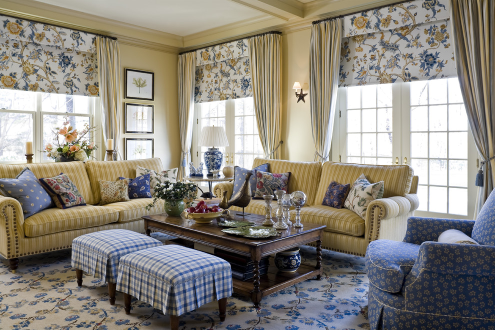 Living Room 4 - Traditional - Living Room - New York - by ...