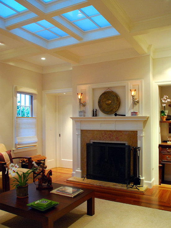 skylights living room design ideas pictures remodel and