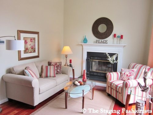 Living Room After Staging contemporary-living-room
