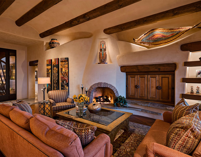 living room after american southwest living room phoenix by
