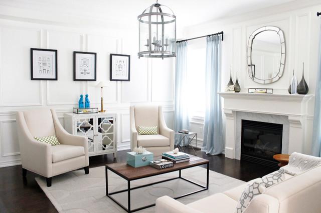 Living Room Contemporary Living Room Toronto By Am Dolce Vita