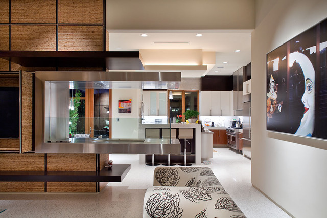 Living Room And Kitchen Modern Living Room Las Vegas By