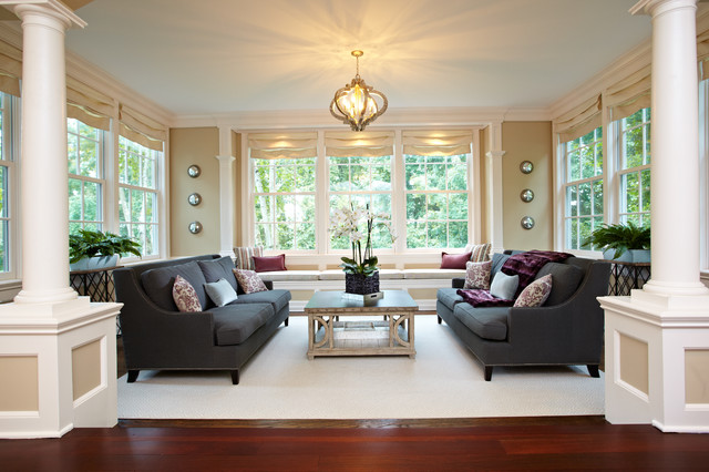 Living Room And Sunroom Combo Traditional Living Room Other Metro By Richmond Hill