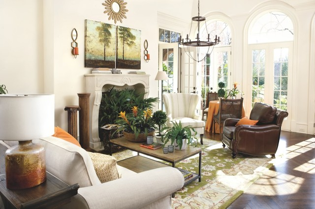 living room traditional living room atlanta by