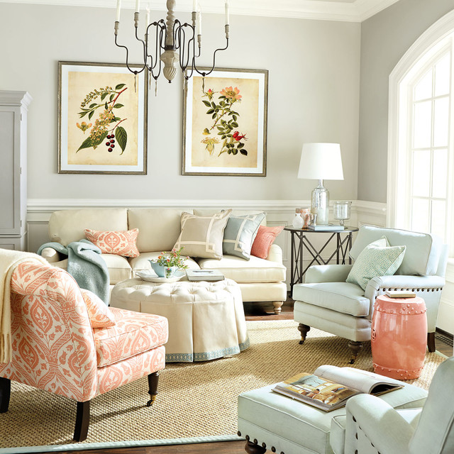 living room traditional living room atlanta by ballard designs. Black Bedroom Furniture Sets. Home Design Ideas