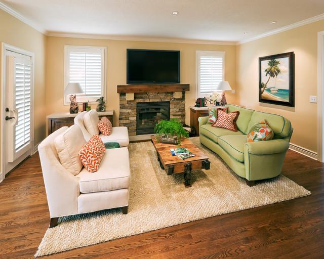 Living Room - Contemporary - Living Room - Kansas City - by Becky ...